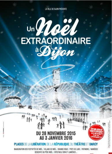 Marché de Noël de Dijon 2015