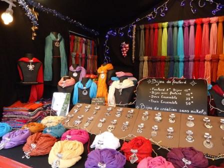 Bijoux de foulards