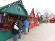 Une allée du Marché de Noël