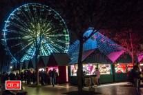 Le marché de Noël de Dijon de nuit