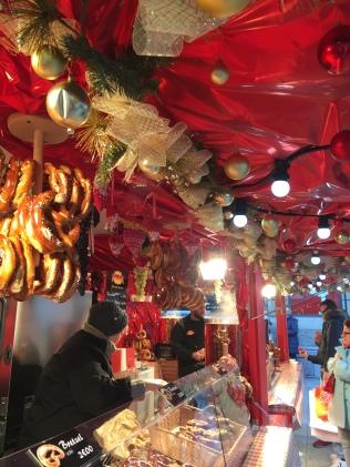 Les bretzels de sortie au Marché de Noël !