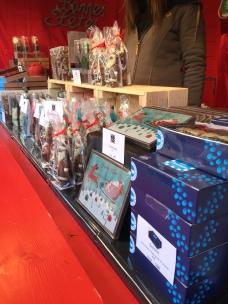 Chocolats au Marché de Noël de Djon