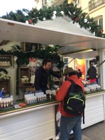 L'originalité au Marché de Noël : cosmétiques à la bave d'escargots !