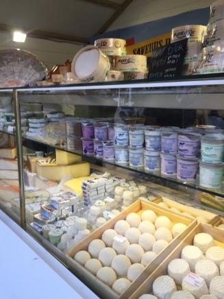 Crèmerie au Marché de Noël de Dijon
