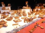 Jeux en bois au Marché de Noël