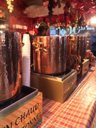 Le vin chaud du Marché de Noël...